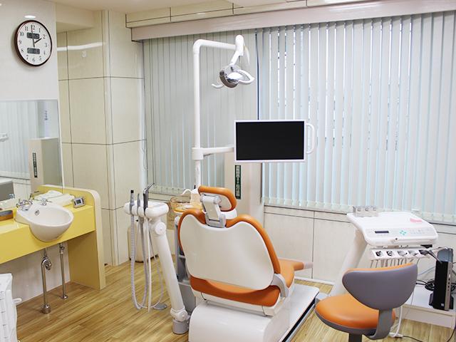 予防歯科を行う専門フロア
